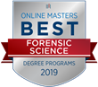 OnlineMasters.com Names Top Master's in Forensic Science Programs for 2019