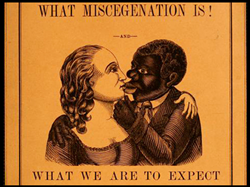 "Image taken from ""What miscegenation is! : and what we are to expect now that Mr. Lincoln is re-elected."" by L. Seaman, 1865. Source: archive.org"