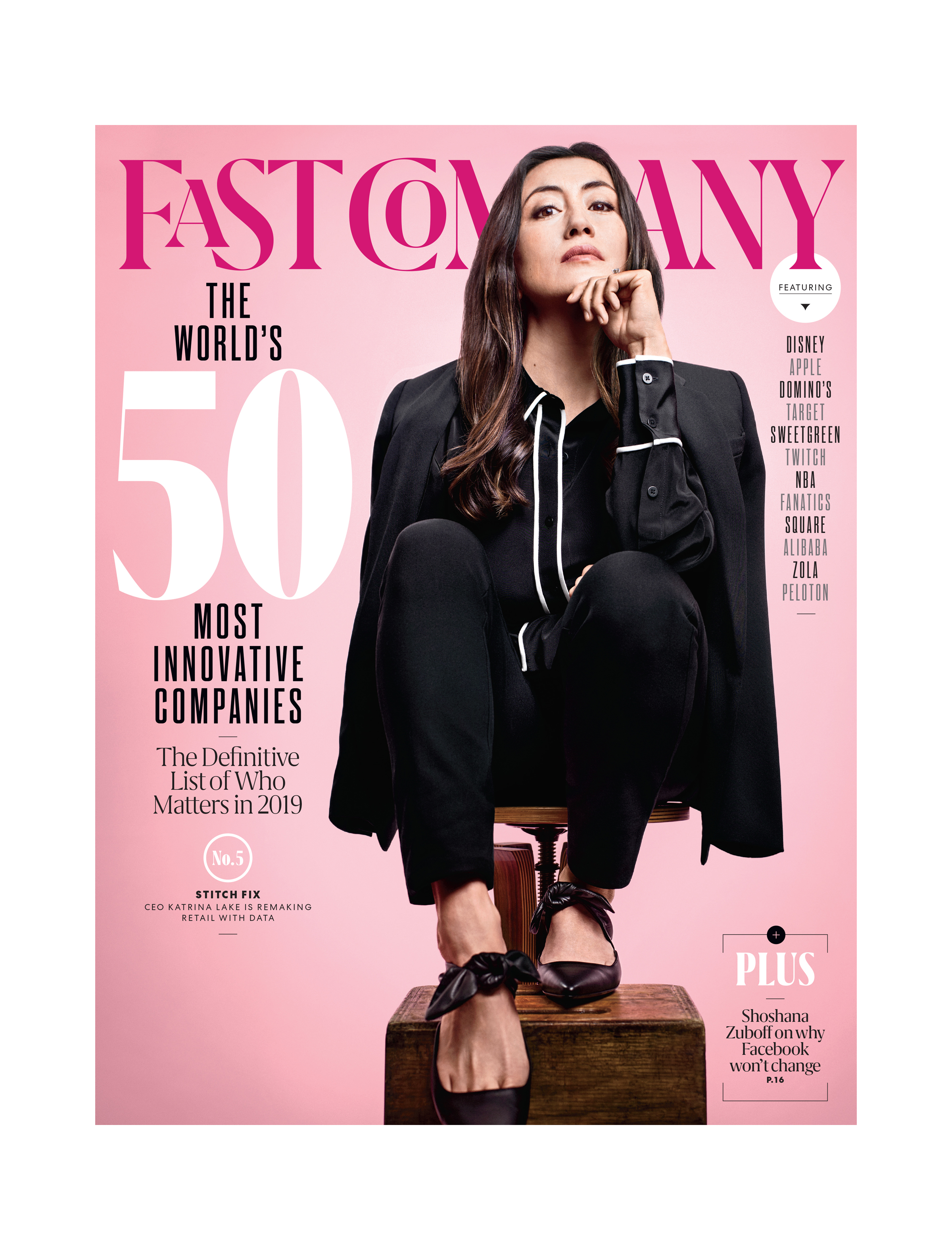 2efac0f8e8 Stitch Fix CEO Katrina Lake is the Cover Story in Fast Company s 2019  World s Most Innovative Companies Issue