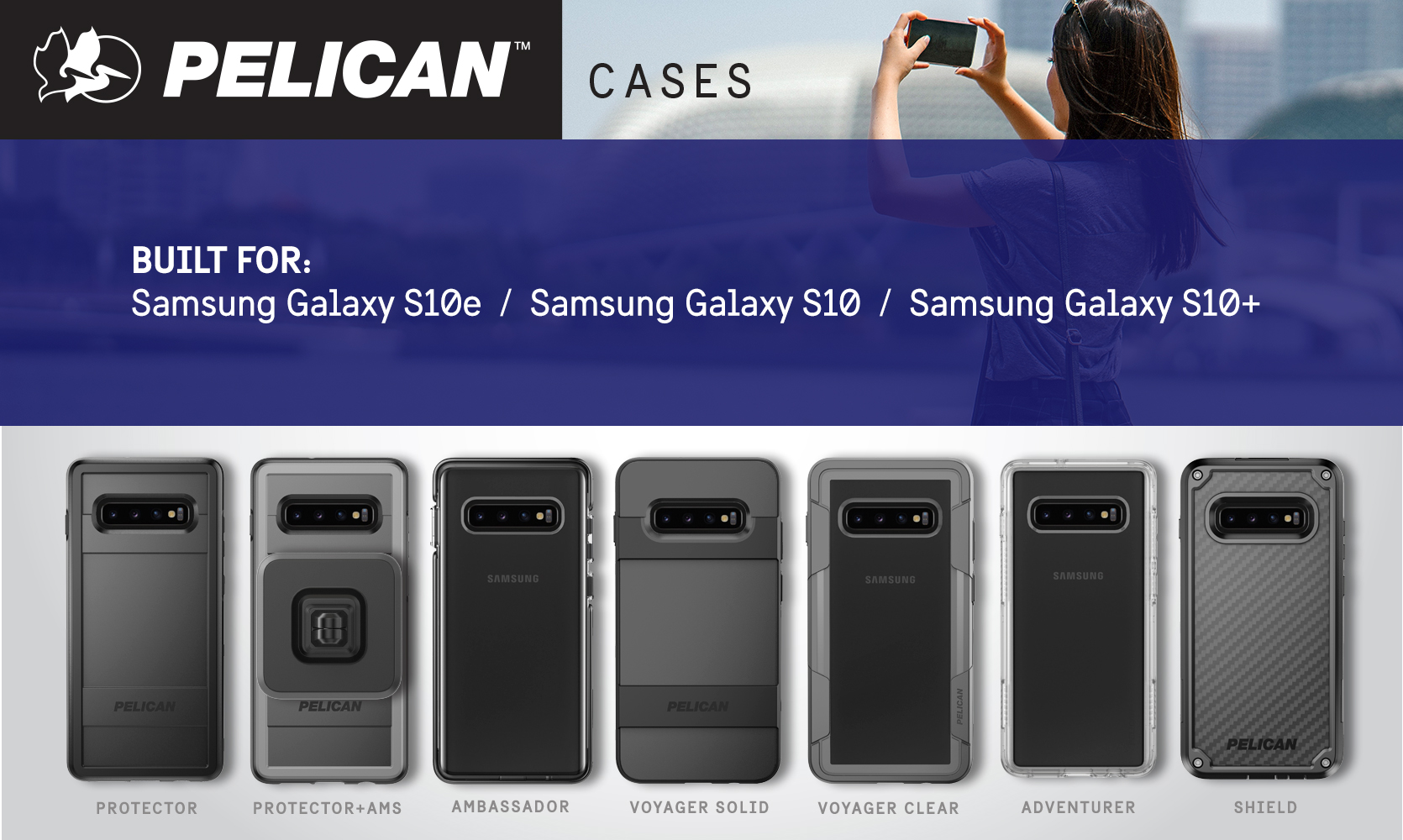 Pelican Launches Six Durable Phone Cases For Latest Samsung