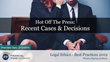 "Financial Poise™ Announces ""Hot Off the Press- Recent Cases & Decisions,"" a New Webinar Premiering March 13th at 1:00 PM CST Through West LegalEdcenter™"