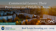 "Financial Poise™ Announces ""Commercial Leases, Their Provisions and Pitfalls to Avoid,"" a New Webinar Premiering March 14th at 3:00 PM CST through West LegalEdcenter™"