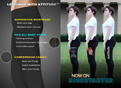 Leggings With Attitude On Kickstarter