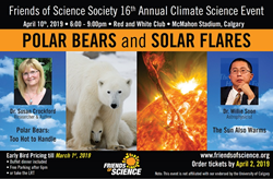 "Polar Bears and Solar Flares"" – Friends of Science Society"