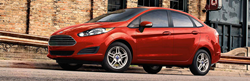 Red 2019 Ford Fiesta