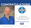 Coldwell Banker Realtor Jim Newcomb Receives International President's Circle Recognition