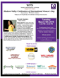 Event flyer for WPN International Women's Day Event