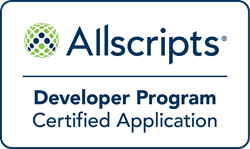 Allscripts Developer Program Certified Application