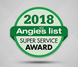 Another Successful Year: Sir Grout Atlanta Earns 2018 Angie's List Super Service Award