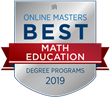 OnlineMasters.com Names Top Master's in Math Education Programs for 2019