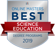 OnlineMasters.com Names Top Master's in Science Education Programs for 2019