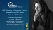 Security Industry Association Announces Event for Women in the Security Industry Featuring Juliette Kayyem