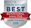 OnlineMasters.com Names Top Master's in Behavioral Analysis Programs for 2019