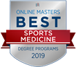 OnlineMasters.com Names Top Master's in Sports Medicine Programs for 2019
