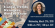 8 Legal Trends All Managers Need to Know: A Webinar by Roth Staffing Companies