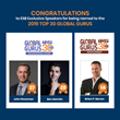 Executive Speakers Bureau's Exclusive Speakers Named to 2019 Global Gurus