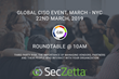 SecZetta to Moderate a Roundtable at GBI's Upcoming Global CISO Event on March 22nd in New York City