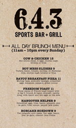 Bowling Green Sports Bar Celebrates 5-Year Anniversary with New Brunch Menu
