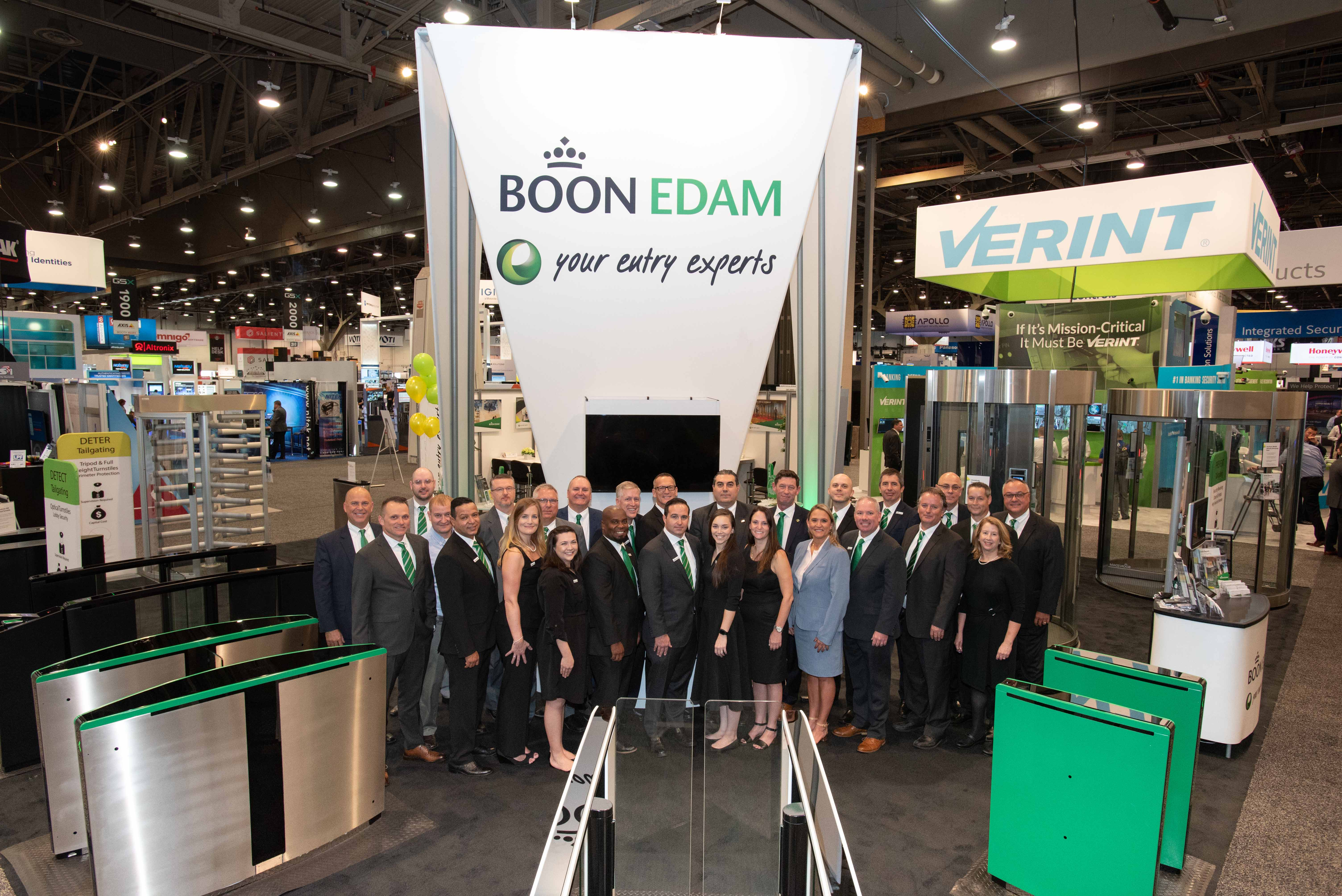 Boon Edam Presents Integrated Entry Solutions That