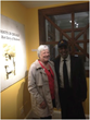 Flat Rock Archives Co-Founder and President Johnny Waits with City of Decatur Assistant Director of Active Living Cheryl Burnette at the DeKalb History Center