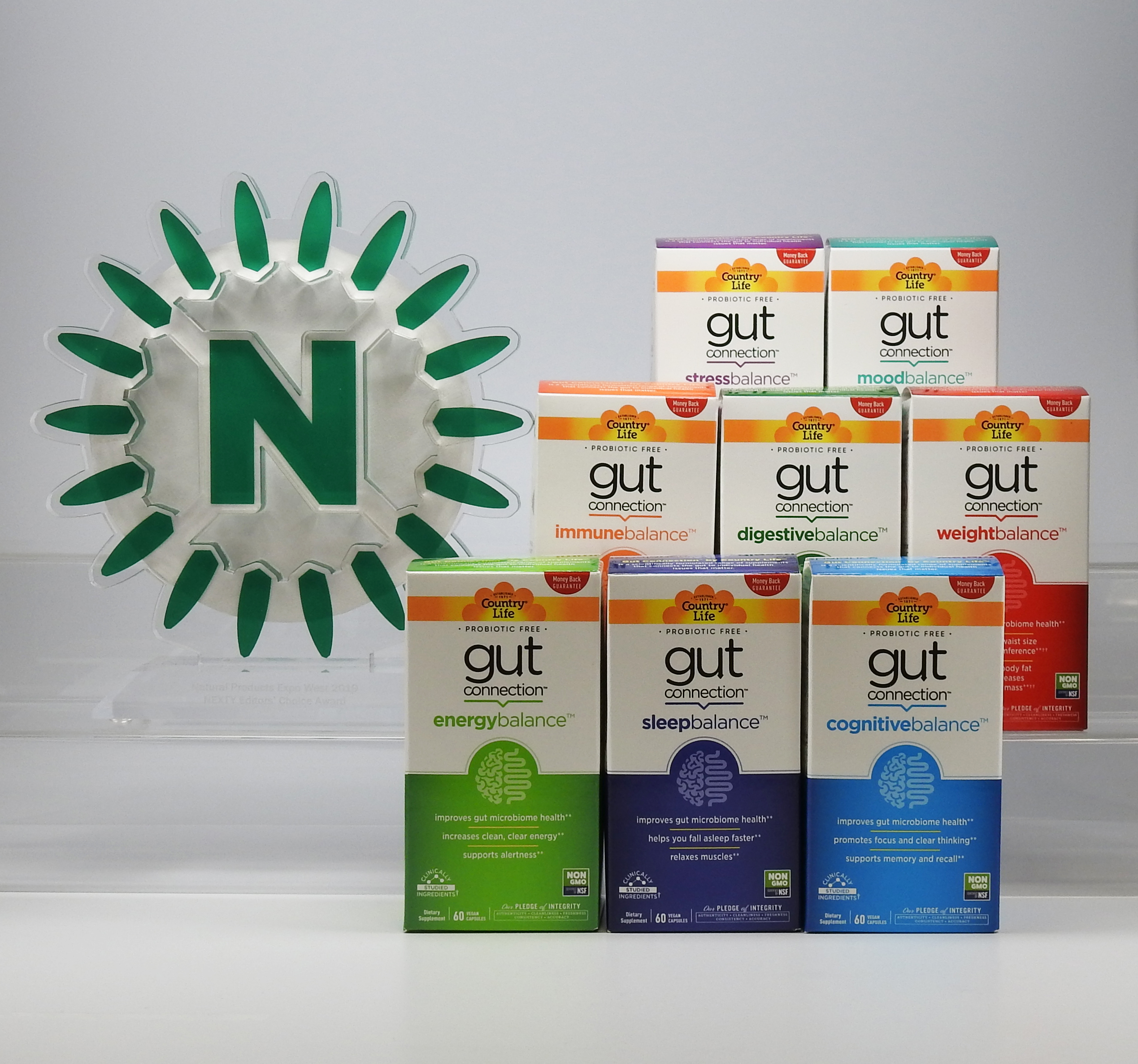 604f1b31ef Country Life Wins a 2019 NEXTY Award - New Gut Connection™ Line Wins .