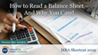 "Financial Poise™ Announces ""How to Read a Balance Sheet – And Why You Care!,"" a New Webinar Premiering April 4th at 3:00 PM CST through West LegalEdcenter™"