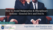 "Financial Poise™ Announces ""How to Avoid Malpractice & Disciplinary Actions,"" a New Webinar Premiering April 10th at 1:00 PM CST through West LegalEdcenter™"