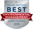 OnlineMasters.com Names Top Master's in Environmental Management Programs for 2019
