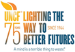 UNCF Celebrates 75 Years of Lighting the Way to Better Futures