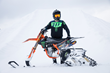Monster Energy's Kyle Demelo Lands the World's First-Ever Front Flip on a Snow Bike at Camp H