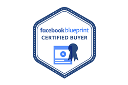 Facebook Blueprint Certified Buyer badge