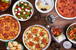 """Riko's Pizza is a ""next generation"" pizzeria located in Fairfield County, CT. Riko's strives to serve the highest quality thin crust pizza with a complement of salads, wings and other menu items, using quality ingredients."