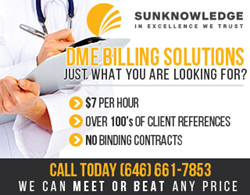 Sunknowledge Has the Perfect Answer in DME Billing