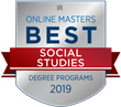 OnlineMasters.com Names Top Master's in Social Studies Programs for 2019