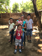A family served in Nicaragua through ORPHANetwork's partnership with Rise Against Hunger.