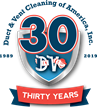 Duct & Vent Cleaning of America, Inc. Celebrates 30 Year Anniversary