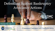 "Financial Poise™ Announces ""Defending Against Bankruptcy Avoidance Actions,"" a New Webinar Premiering April 23th at 11:00 AM CST through West LegalEdcenter™"