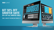 Red Giant Shooter Suite Suite is 50% Off for 24-Hours Only