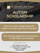 Phoenix Criminal Defense Law Firm Announces Autism Scholarship