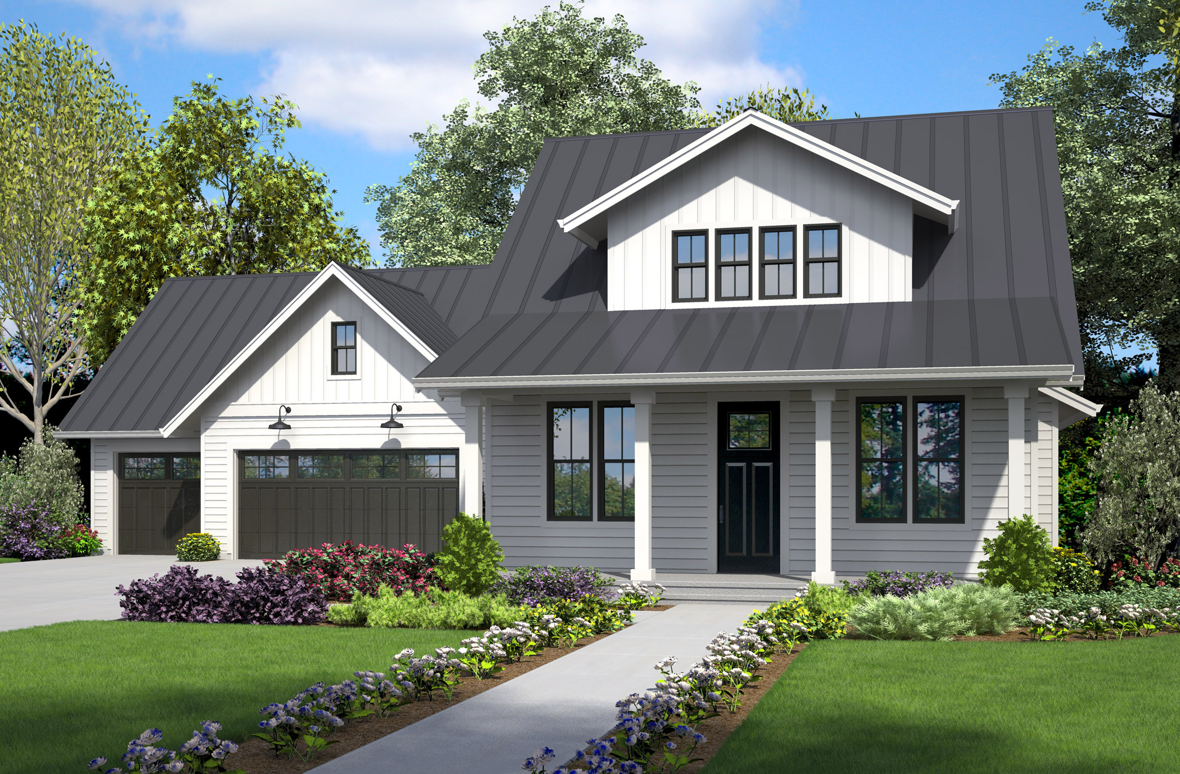 Modern Farmhouse and Beyond House Plans for Multi Generational ...
