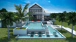 RE/MAX Real Estate Group Turks and Caicos Islands Reveals 3D Elevations of Exclusive Estate Home Enclave