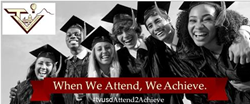 Picture of Attendance Matters - When We Attend, We Achieve Banner.