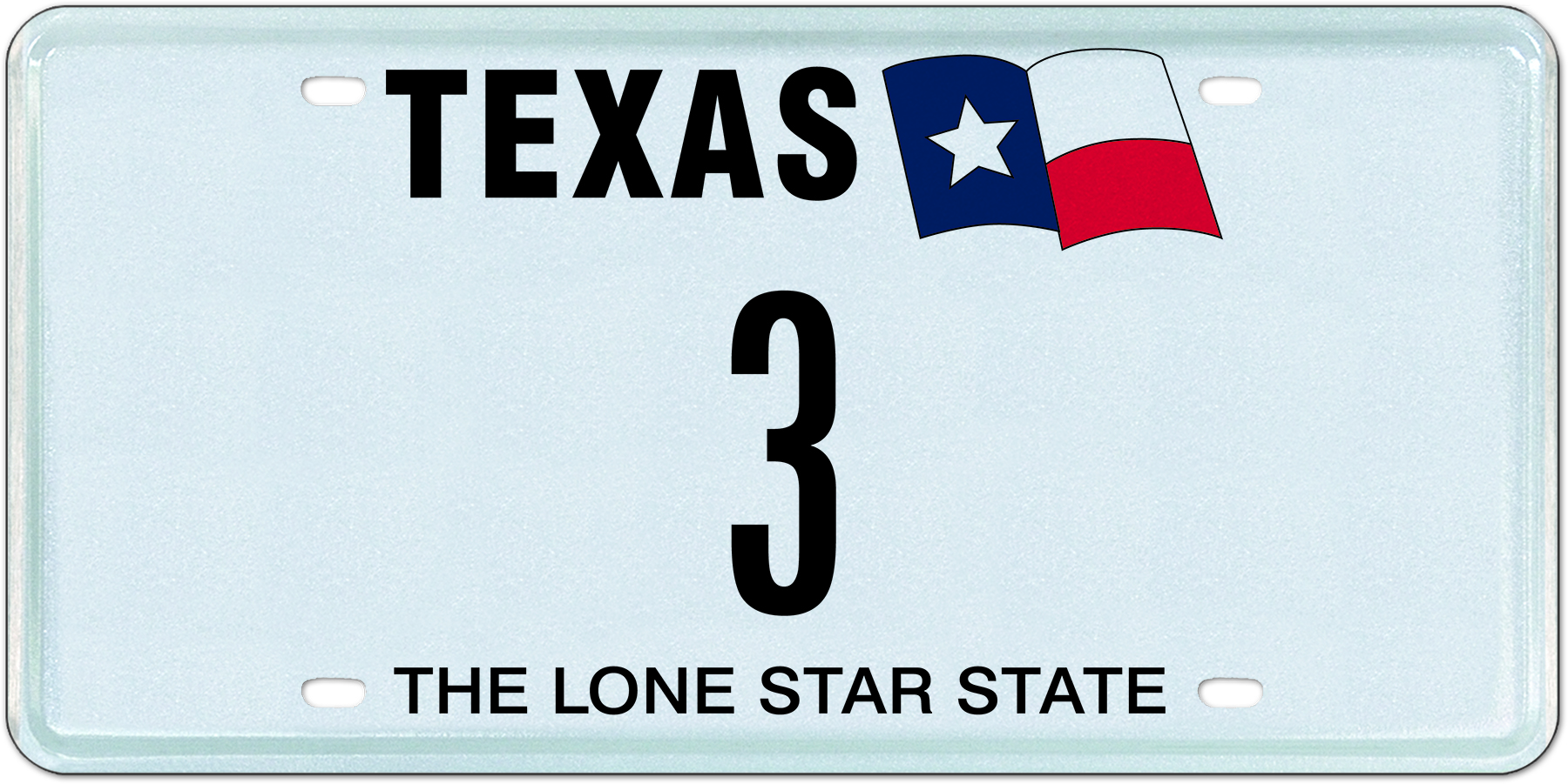 My Plates Texas >> My Plates Auctions Last Remaining Single Digit Plate In Texas