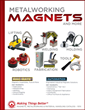 "Industrial Magnetics Publishes New ""Metalworking Magnets & More"" Catalog"
