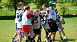 Campers always enjoy themselves at Xcelerate Nike Lacrosse Camps