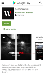 Auctionwini at Google Play Store