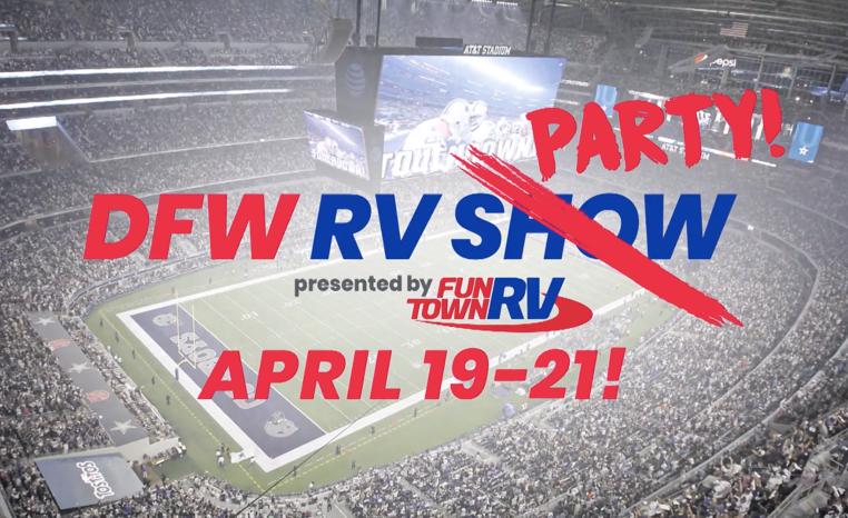 Fun Town Rv Hosts The Dfw Rv Show Inside At Amp T Stadium