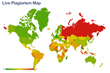 Russians Plagiarise 2.5 Times More Than Americans – the First Live Plagiarism Map Shows