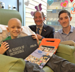 Pediatric cancer patient receives a Mikey's Way Foundation electronic gift made possible by Garavel Subaru