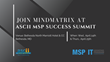 MSP Marketing and Sales Enablement Solution Provider, Mindmatrix to present at the ASCII IT Success Summit 2019 in Washington, D.C.